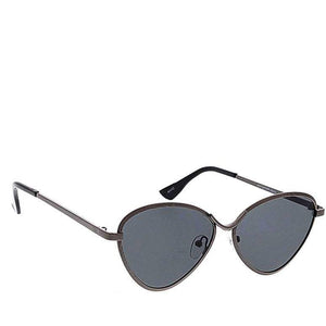 Shaded Tint Round Sunglasses- Assorted Colors