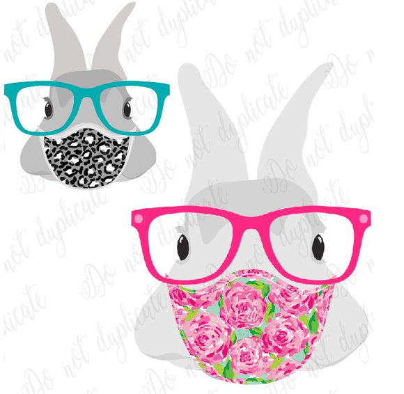 Masked Bunny Decals