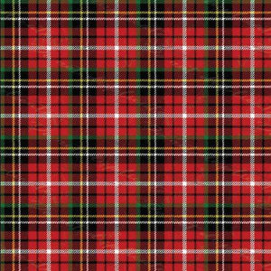 Christmas Plaid Printed Vinyl
