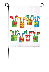 Grandparent Gift & Elf Garden Flag