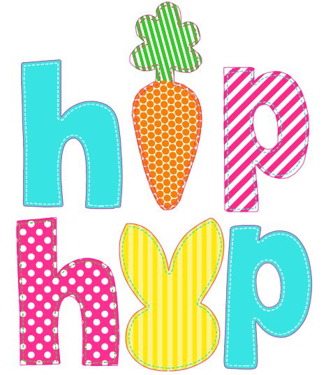 Hip Hop Easter Heat Transfer