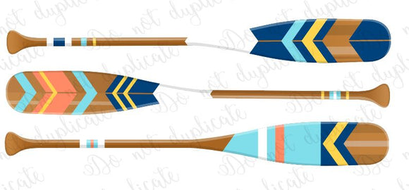 Oars (Boat Paddles) Heat Transfer