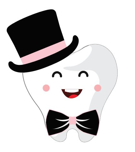 Valentine's Tooth with Top Hat Heat Transfer