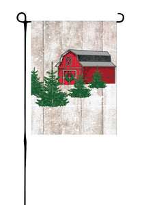 Christmas Tree Farm Garden Flag