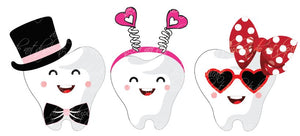 Valentine's Teeth Heat Transfer