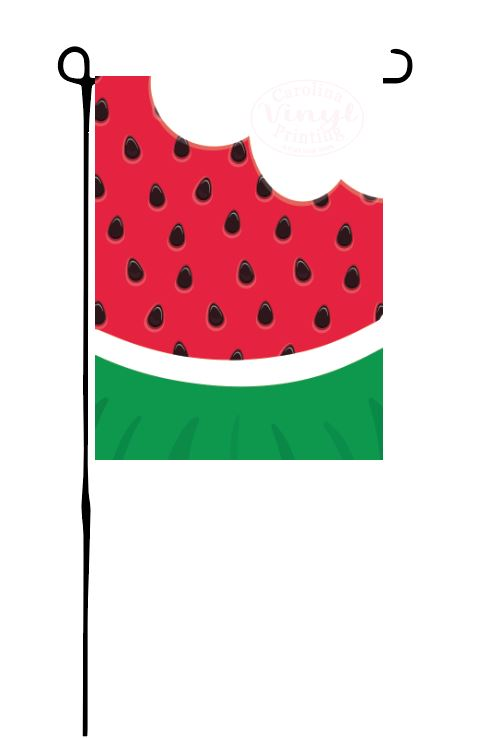 Watermelon Garden Flag