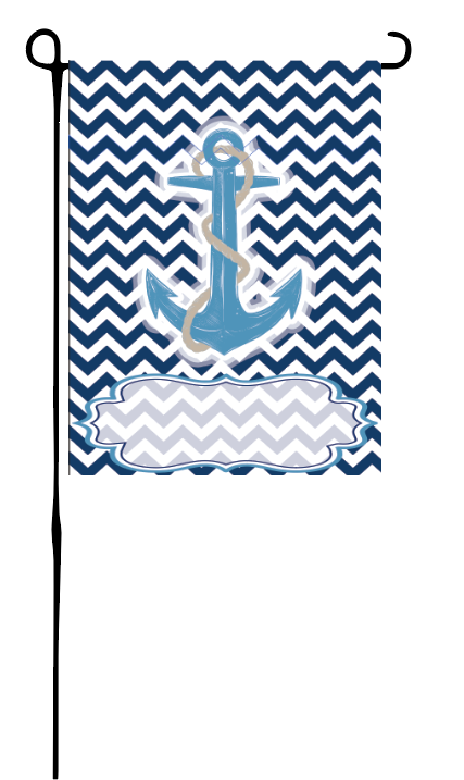 Anchor Garden Flag