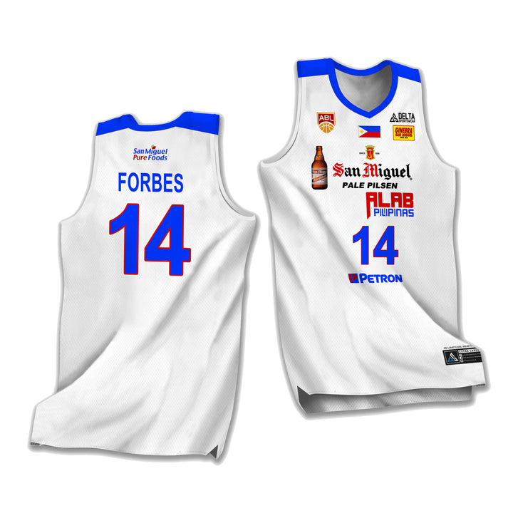 ALAB Pilipinas Adrian Forbes 2020 Jersey (ABL)