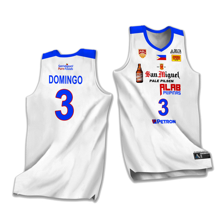 ALAB Pilipinas Lawrence Domingo 2020 Jersey (ABL)