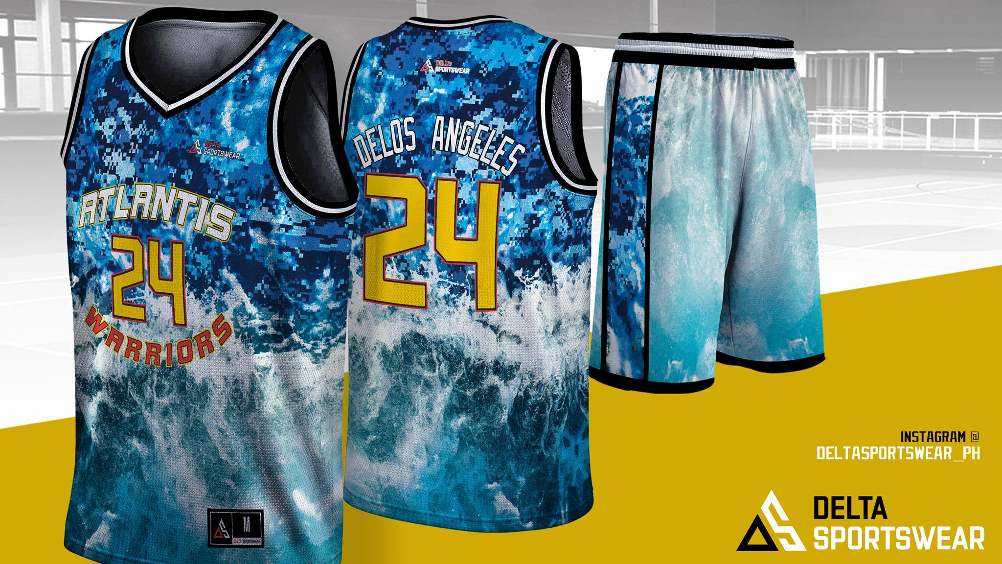 huge discount 36b92 4aa84 Full Sublimation Jersey Set (Your Own Design)
