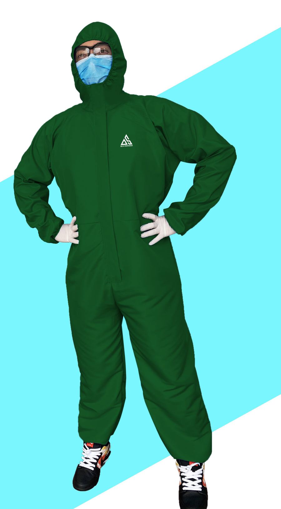 PPE (COVERALL) EMERALD GREEN