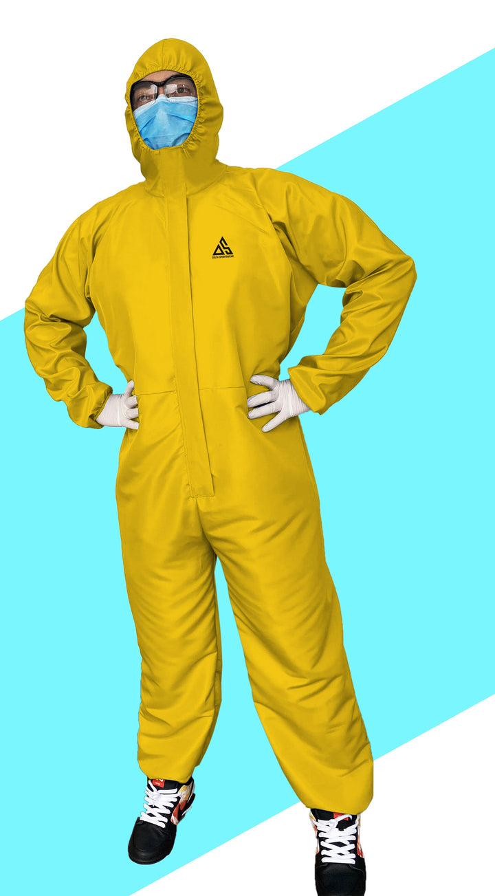 PPE (COVERALL) GOLDEN YELLOW