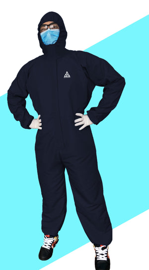 PPE (COVERALL) NAVY BLUE