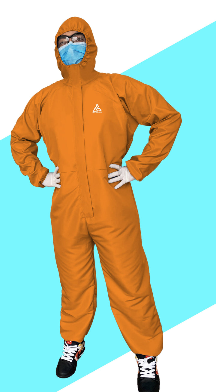 PPE (COVERALL) ORANGE