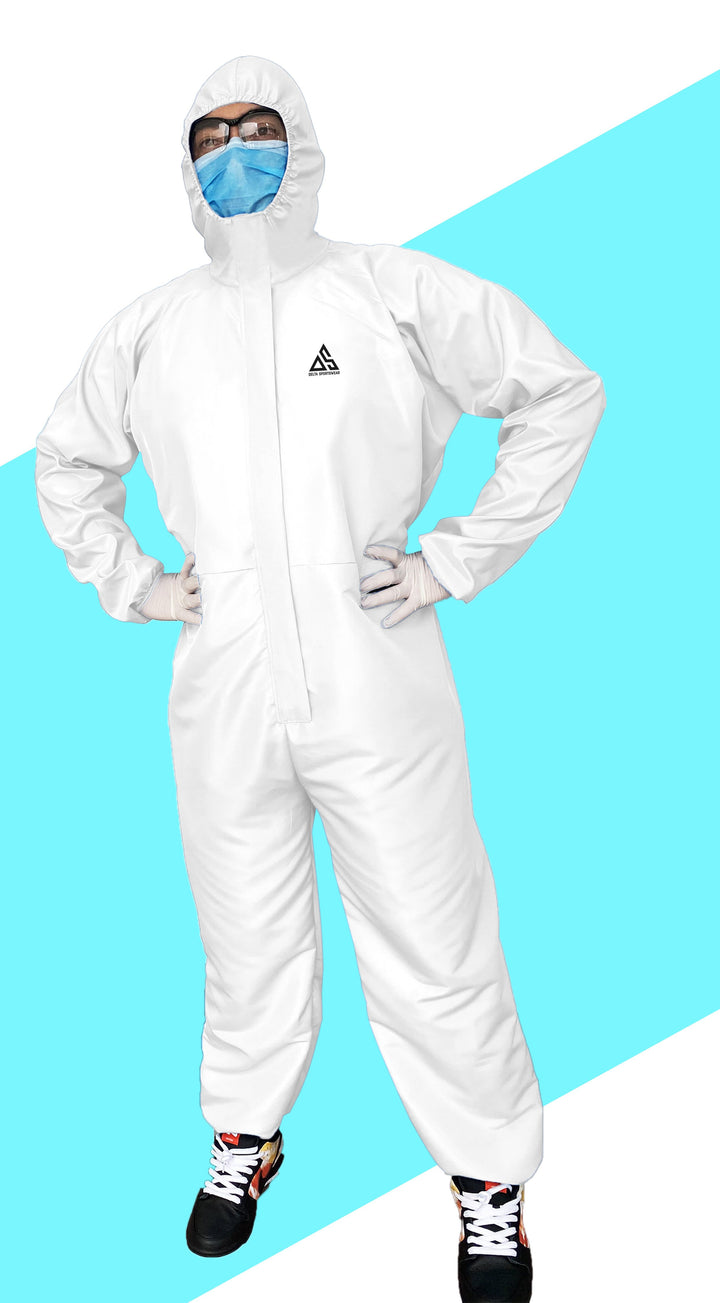 PPE (COVERALL) WHITE
