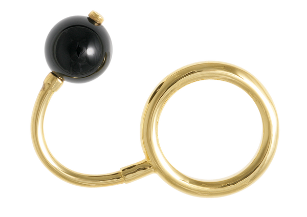 Bondage Ball Double Ring
