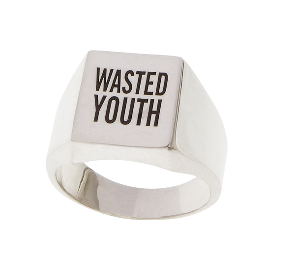 Herman 'WASTED YOUTH' ring