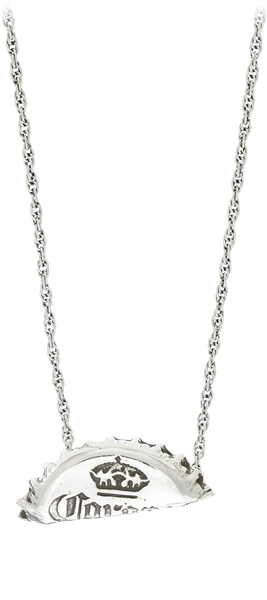 bent necklace