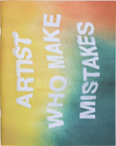 dan colen - artist who makes mistakes book