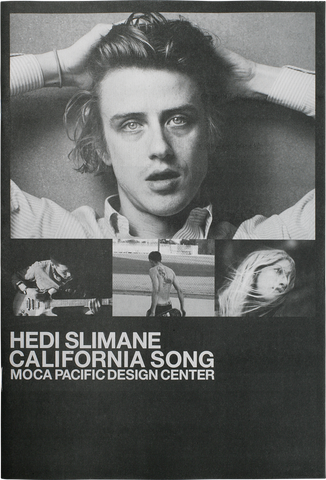Hedi Slimane - California Song Exhibition Catalog