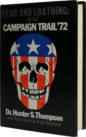 hunter thompson - fear and loathing: on the campaign trail '72 book