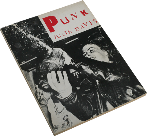 julie davis - punk book