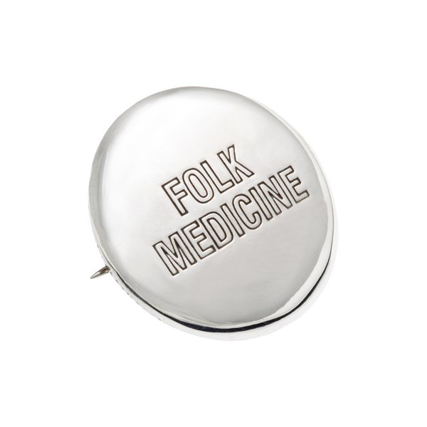 Folk Medicine Badge