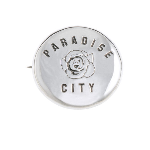 Herman Paradise City Badge