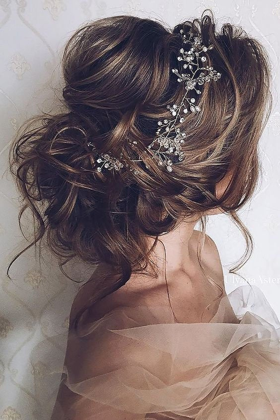 Long Bridal Hair Vine
