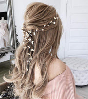 Bridal Gold Hair Vine