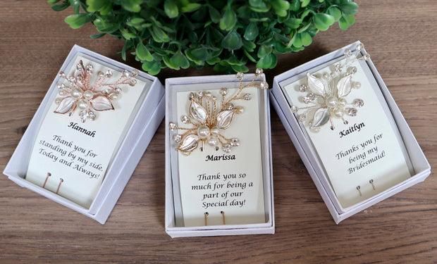 Personalized Bridesmaids Gift