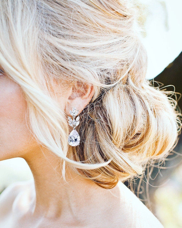 Crystal Bridal Earrings