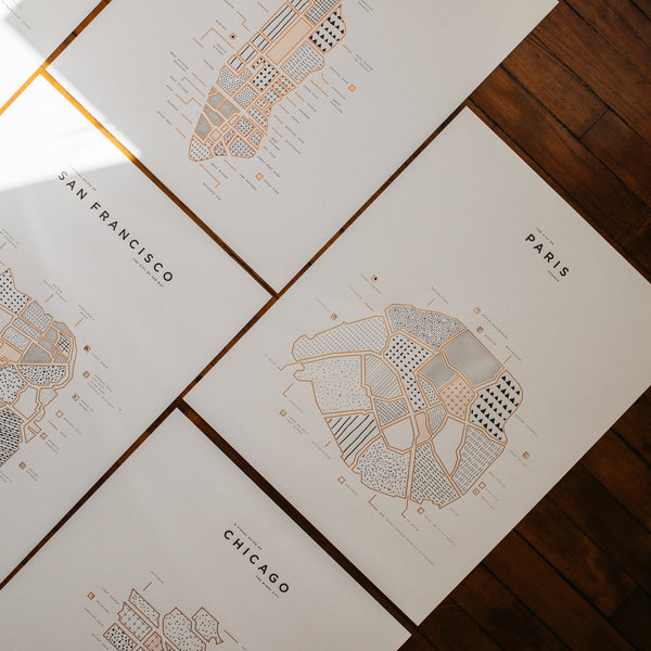 Second Quality Letterpress Prints