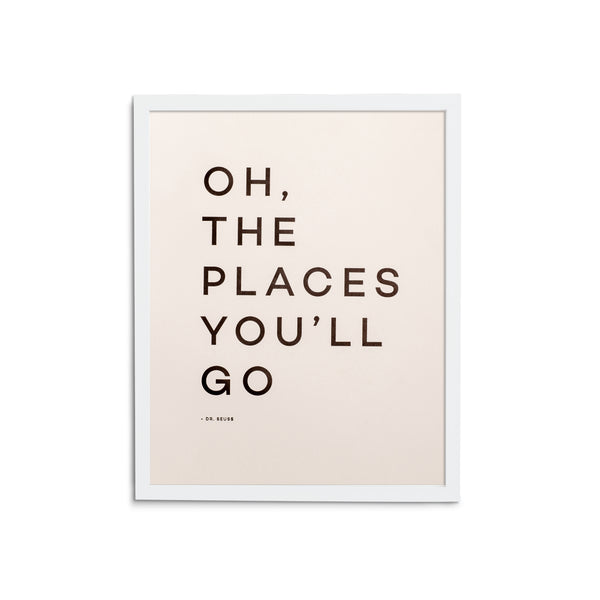 Travel Quote Print No. 3