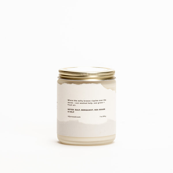 Coast Inspired Scented Candle