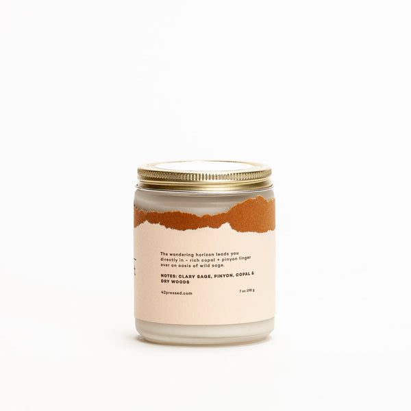 Desert Inspired Scented Candle