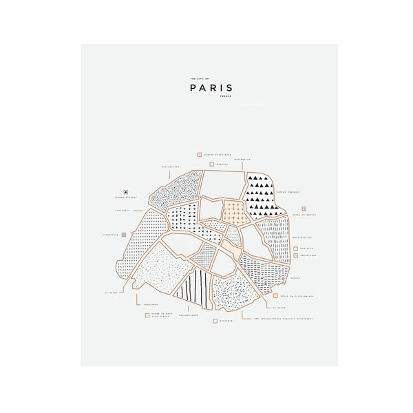 Paris City Print Wholesale