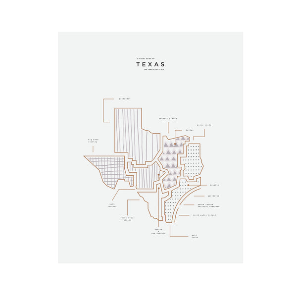 Texas State Print Wholesale