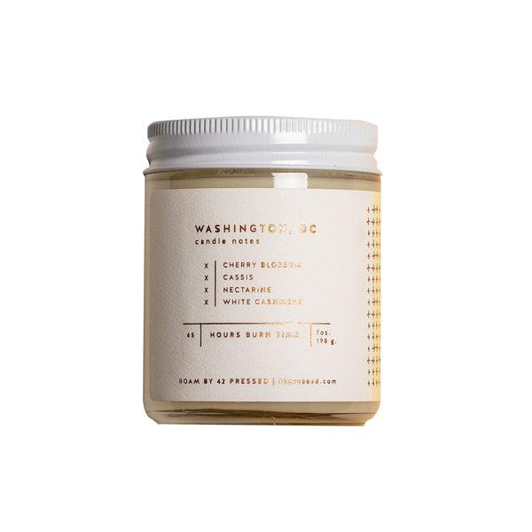 Roam Washington DC Scented Candle