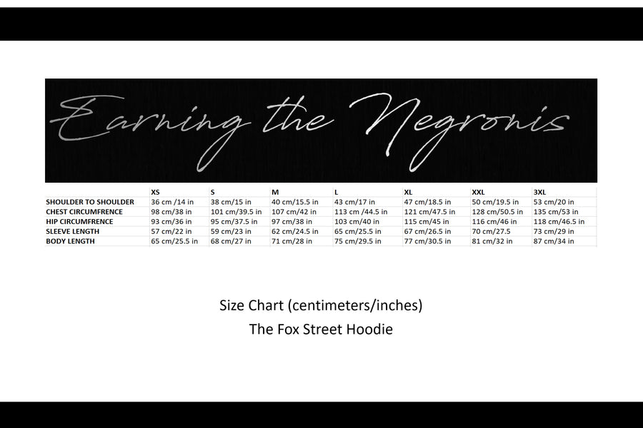 The Fox Street Hoodie - Black Fox