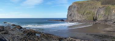 Crackington Haven Beach, Cornwall, UK - Ben's Beach