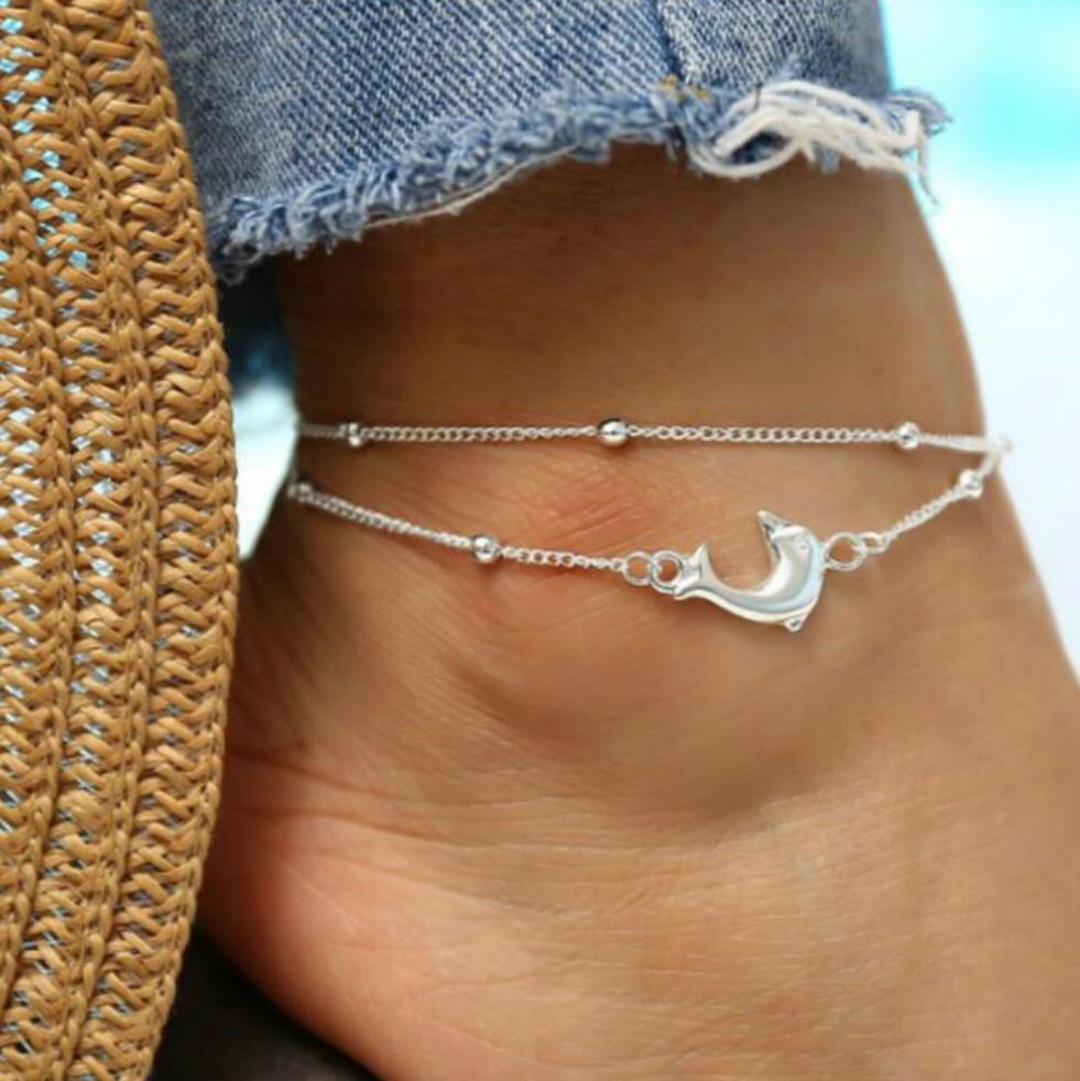 Dolphin Anklet | Beach Jewellery | Ben's Beach