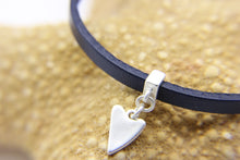 Load image into Gallery viewer, Leather beach bracelet | Silver Charm | Ben's Beach
