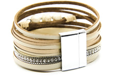 Load image into Gallery viewer, Leather Multi-Strand Bracelet | Beach Jewellery | Ben's Beach