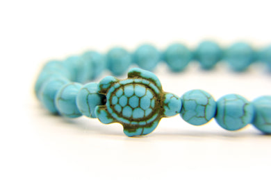 Turtle Bracelet | Beach Jewellery | Eco-Friendly Ceramic Stone | Ben's Beach