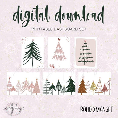 DIGITAL: Boho Xmas (B6 Rings)