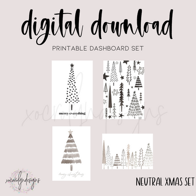 DIGITAL: Neutral Xmas (PW Rings)