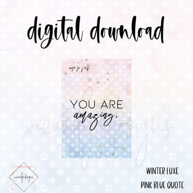 DIGITAL: Winter Luxe