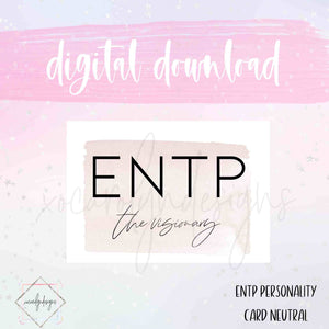 DIGITAL: ENTP - The Visionary Neutral (Pocket Plus Rings)