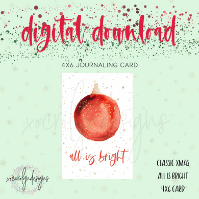 DIGITAL: Classic Christmas All Is Bright